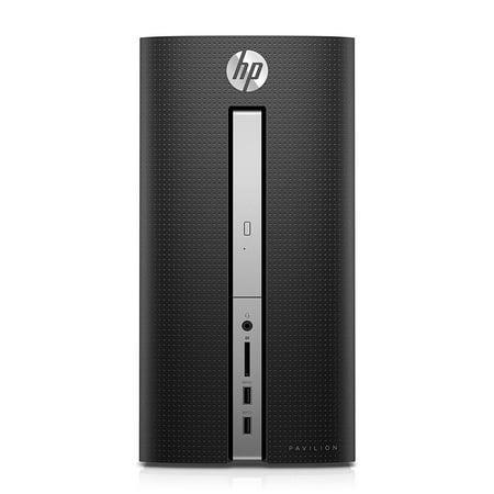 HP - Pavilion Desktop - Intel Core i3 - 8GB Memory - 1TB Hard Drive + 128GB Solid State Drive - HP Finish In Twinkle Black PC Computer