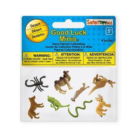 - Good Luck Minis Fun Pack Desert Safari Ltd Set Educational Kids Toy Figure