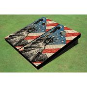 Statue Of Liberty Constitution Cornhole Board Set