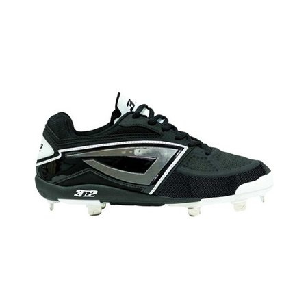 Women's 3N2 Dom-N-8 TPU Fastpitch Cleat Sport a look that is as dynamic as your game with the 3N2 Dom-N-8 TPU Fastpitch Cleat. With its ShimmerStep iridescent logo mark, the 3N2 DOM-N-8 TPU fastpitch cleat makes an undeniable impact on the diamond. As lighting conditions and angles change, so does the color of the ShimmerStep material. The upper is made of high-grade genuine patent leather with a rugged TPU bumper and film for extra protection. Fast pitch softball Dual-injection PGO midsole ROTOGRIP 12-cleat outsole configuration Non-metallic cleats O-ZONE insole with odor-fighting Agion technology.