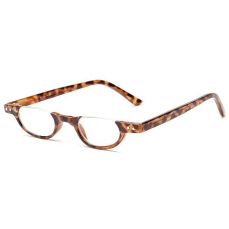 Readers.com The Benton Half Frame Reading Glasses for Men and (Glasses Com Review)