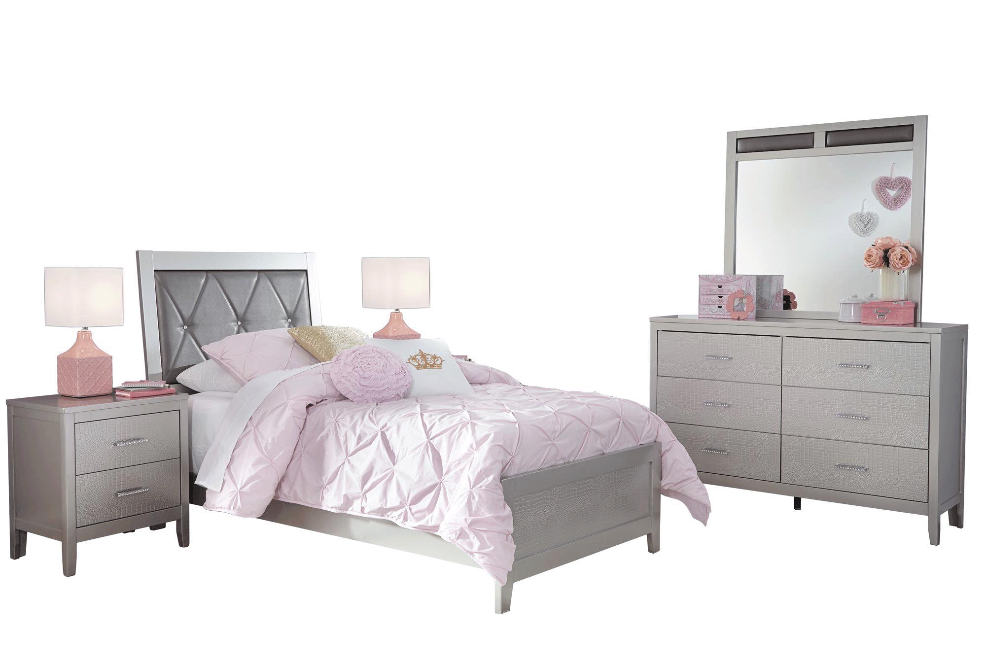 ashley furniture olivet 5 pc bedroom set twin panel bed 2