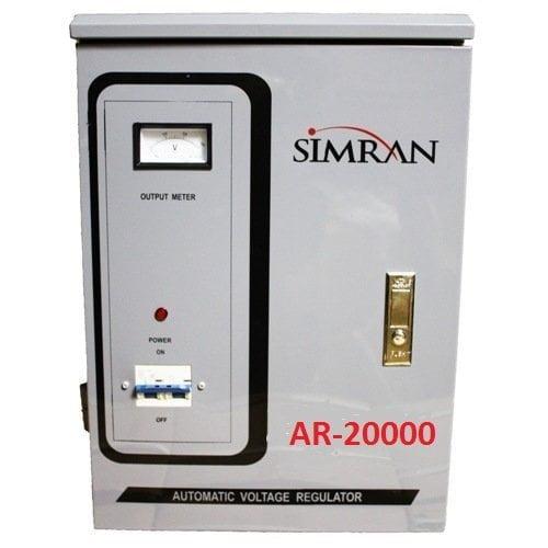 Simran Power Converter Regulator Stabilizer with Built-In Voltage Transformer, 20,000W (AR-20000)