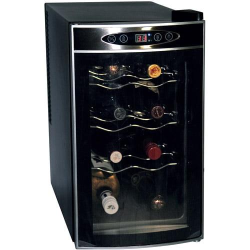 Koolatron 8-Bottle Wine Cellar, Black by Koolatron