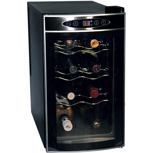 Koolatron 8-Bottle Wine Cellar, Black