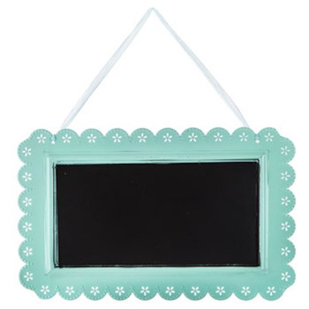 Mint Metal Chalkboard with Scalloped Edge Party Supplies All Occasion Parties Birthday Wedding Sweet 16