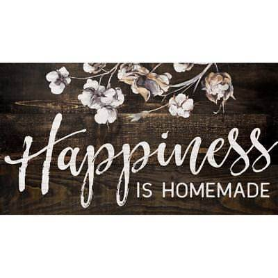 HAPPINESS IS HOMEMADE Distressed Wood Sign, 10