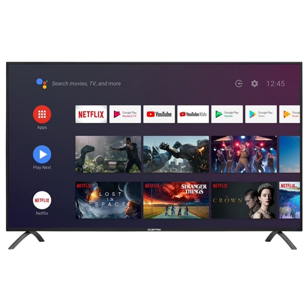"Sceptre 50"" Class TV (2160p) Android Smart 4K LED TV with Google Assistant (A518CV-U)"