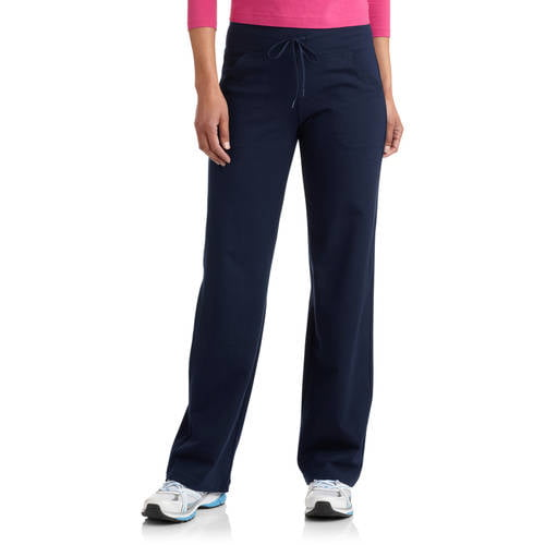 Danskin Now Women's Dri-More Core Relaxed Fit Yoga Pants available in Regular and Petite by