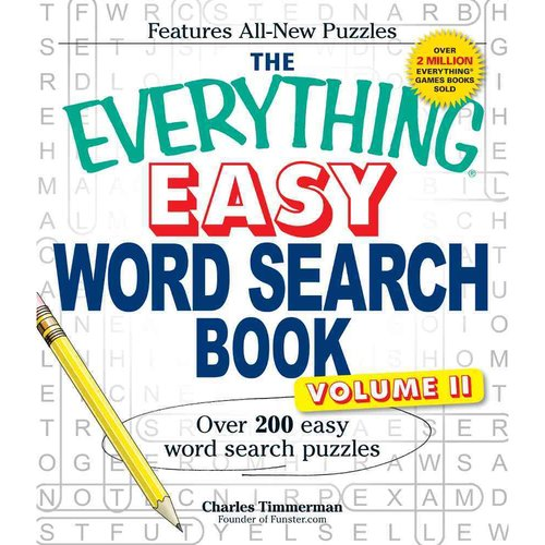 The Everything Easy Word Search Book: Over 200 Easy Word Search Puzzles