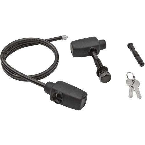 SportRack SR0022 Hitch and Locking Cable Kit, Keyed Alike, Black