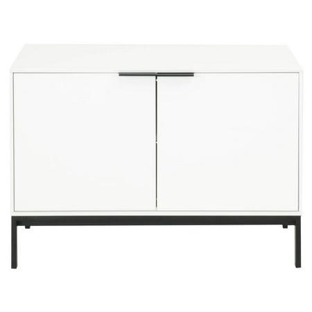 Star International Furniture Drone 2 Door TV Stand - White High Gloss ()