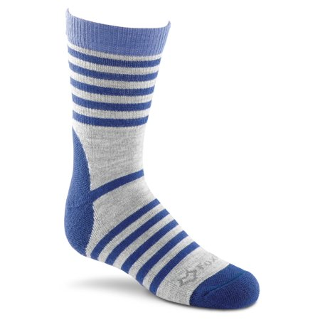 Blue Jeans Clothes - Fox River Emblazon Kids Lightweight Crew Socks, Small, Blue