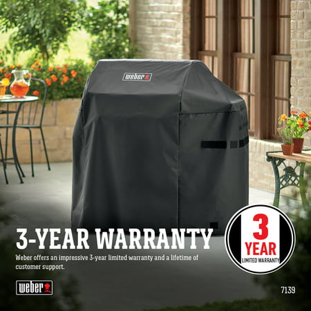 Weber Spirit II 3 Burner Series Gas Grill Premium Cover