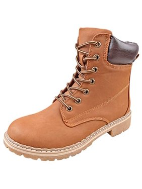 61b6a982e481 Product Image Forever LINK WHITNEY-25 Women s Ankle High Combat Hiking Boots-3