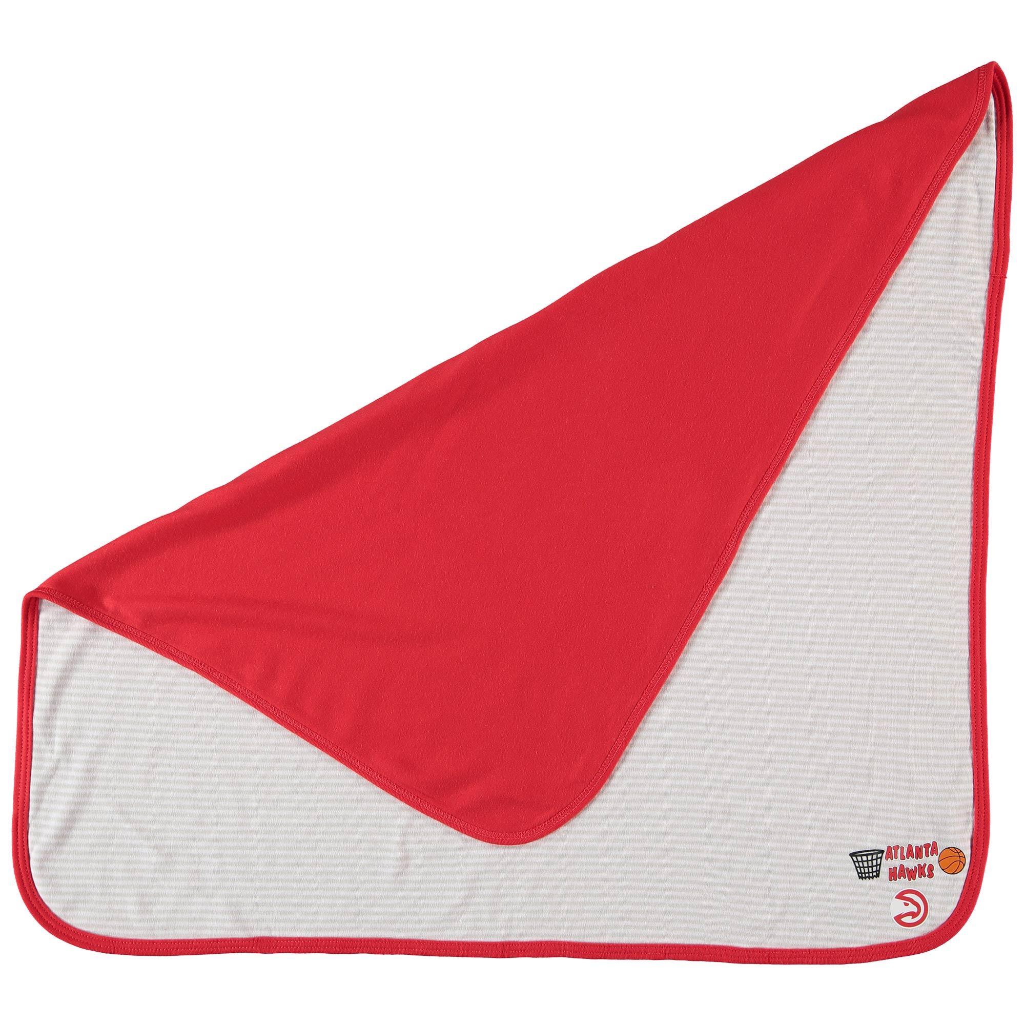 Atlanta Hawks Infant Lil Kicker Baby Blanket - Red - No Size