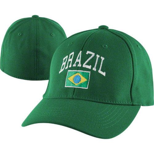 Team Brazil Stretch Fit Hat