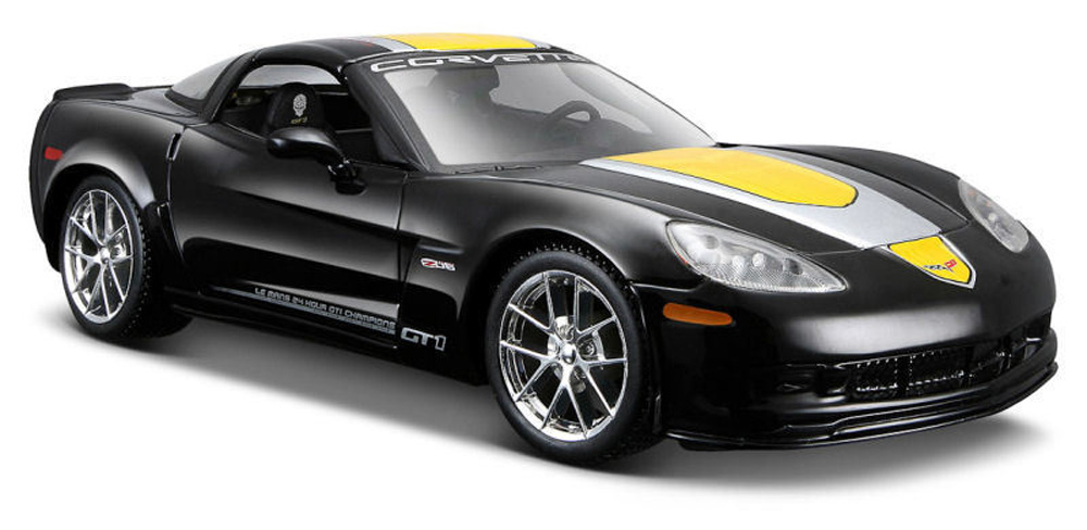 Chevy Corvette Z06 GT1, Black Maisto 34203 1 24 Scale Diecast Model Toy Car (Brand but NOT... by Maisto