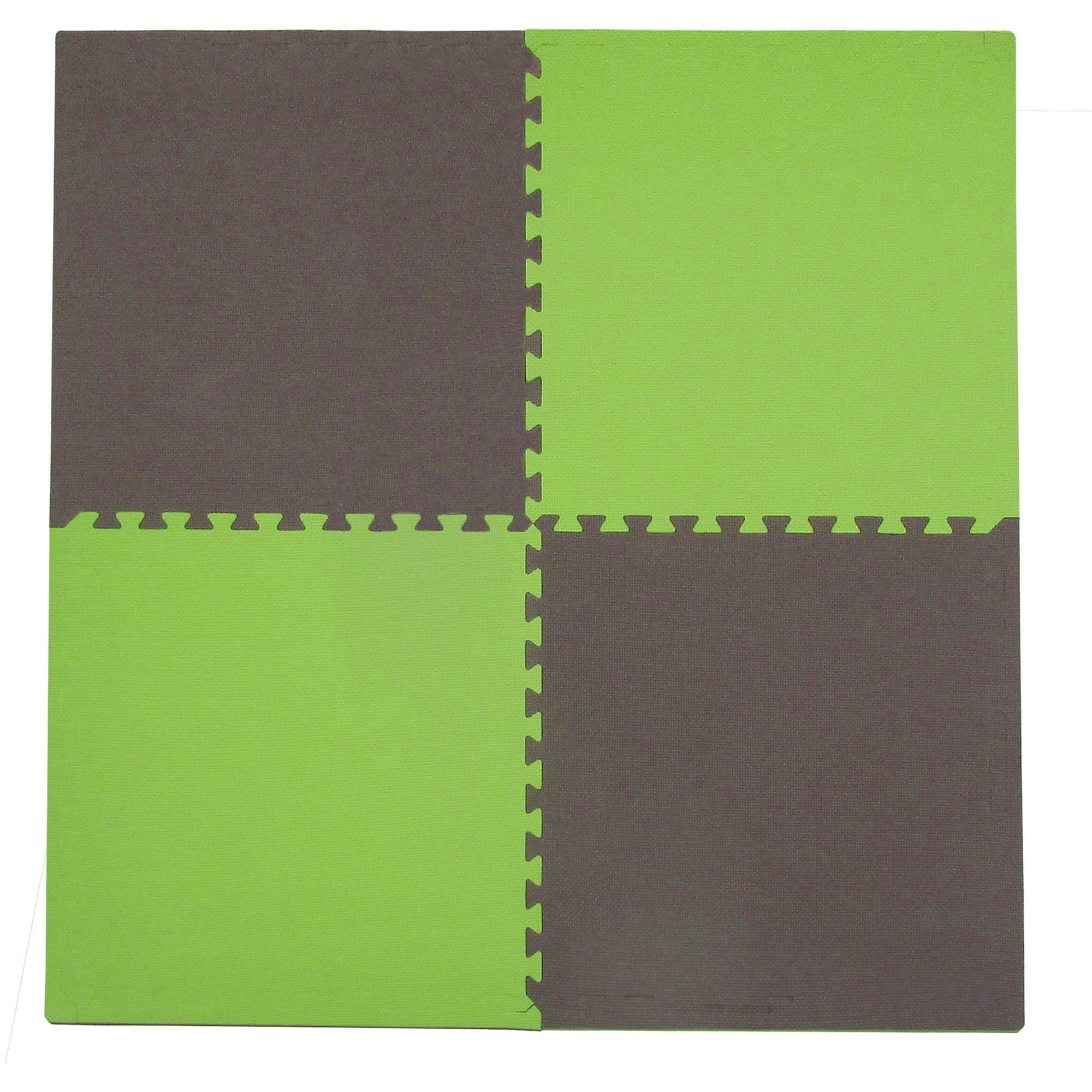 Tadpoles XL Foam Play Mat Set, 4 Pieces