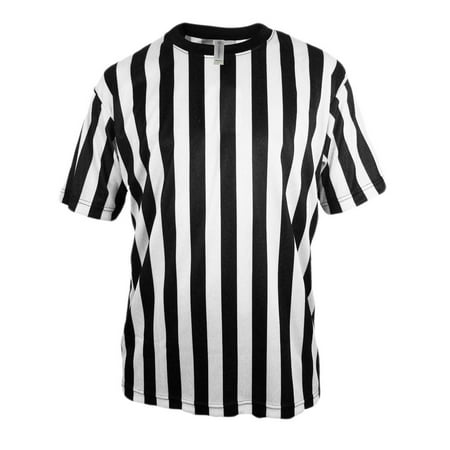 Mens Referee Shirts | Comfortable, Lightweight Ref Shirt for Officials, Bars, More