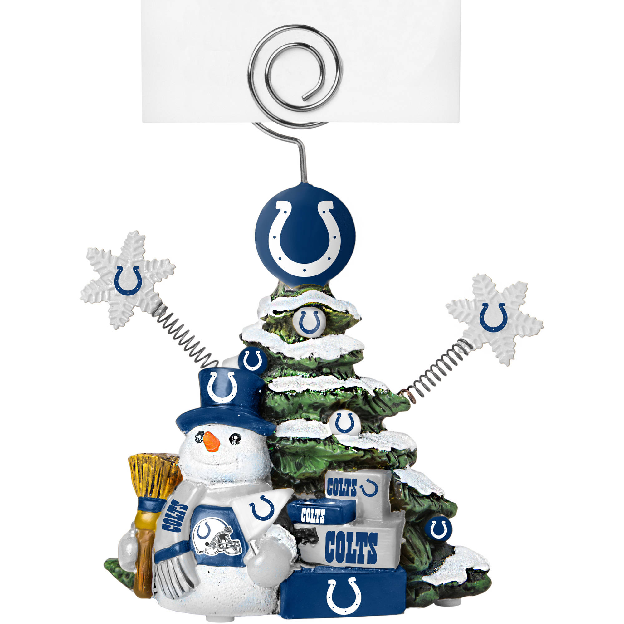 Topperscot by Boelter Brands NFL Tree Photo Holder, Indianapolis Colts