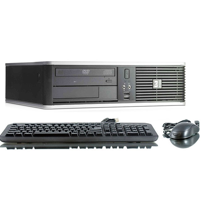 Refurbished HP Compaq DC7900 3.0GHz C2D 4GB 160GB DVD Win 10 Pro 64 SFF Computer