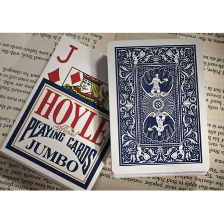 Hoyle Jumbo Index Playing Cards - 1 Sealed Blue Deck #1003440 Hoyle Poker Deck