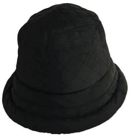 Dorfman Pacific - Women s Nylon Quilted Waterproof Rain Hat - Walmart.com 1ea892d5279