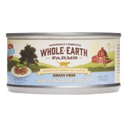 Whole Earth Farms Grain-Free Real Chicken Recipe Wet Cat Food, 2.75 Oz
