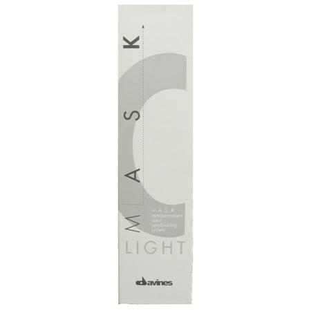 Davines Mask Light Semipermanent Color 6 6N Dark Blonde 3.4 Oz ()