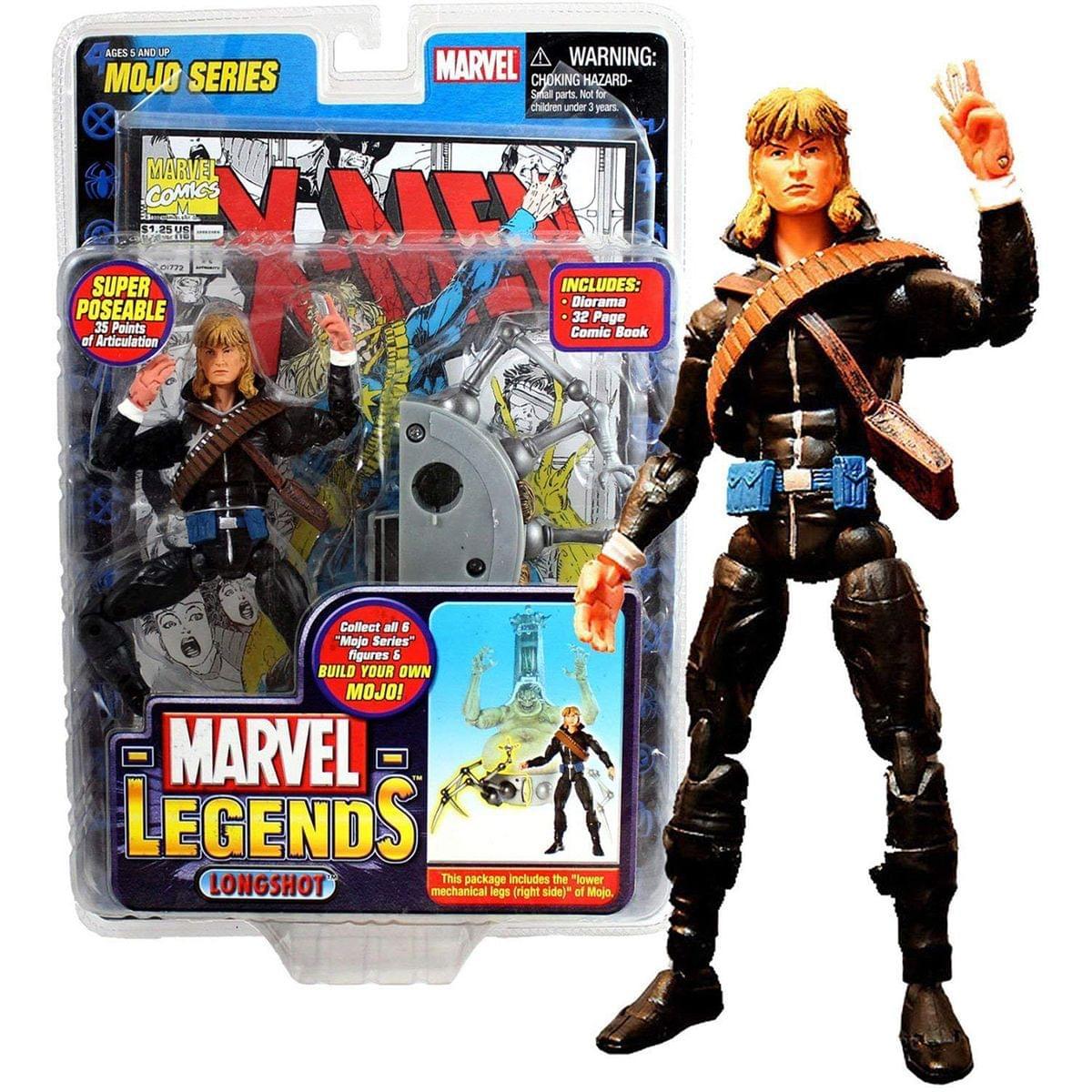 Marvel Series 14 Mojo Longshot Action Figure