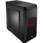 "Corsair Carbide SPEC-1 Computer Case - Mid-tower - Black - Steel, Plastic - 6 x Bay - 1 x 4.72"" x Fan(s) Installed - Mini ITX, ATX, Micro ATX Motherboard Supported - 10.58 lb - 5 x Fan(s)"