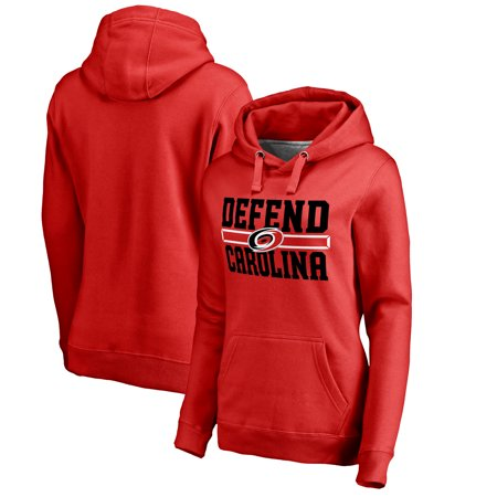 designer fashion 5dafa b8f4b Carolina Hurricanes Fanatics Branded Women's Hometown Collection Defend  Pullover Hoodie - Red