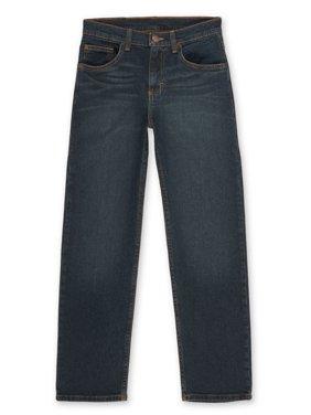 Wrangler Boys Straight Fit Jeans, Sizes 4-16 & Husky