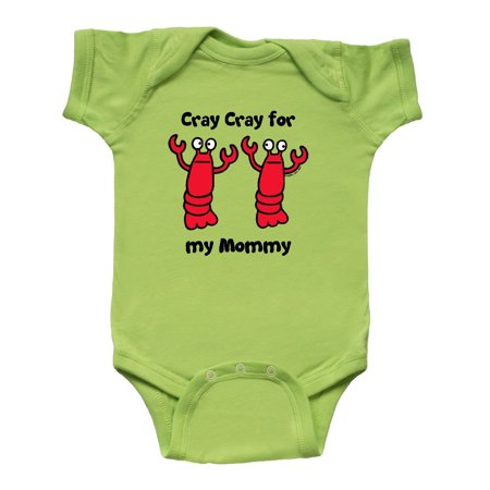Lobster Cray Cray for my Mommy Infant Creeper - Lobster Baby
