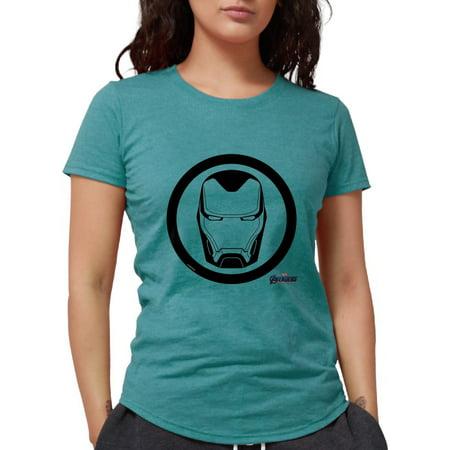 CafePress - Iron Man Logo Womens Tri Blend T Shirt - Womens Tri-blend