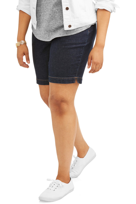 Women's Plus 2 Pocket Pull On Short