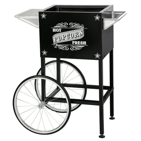 Black Replacement Cart for Larger Paducah Style Great Northern Popcorn Machines (Great Northern Flat Car)