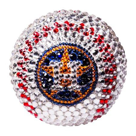 Houston Astros Crystal Baseball - No Size