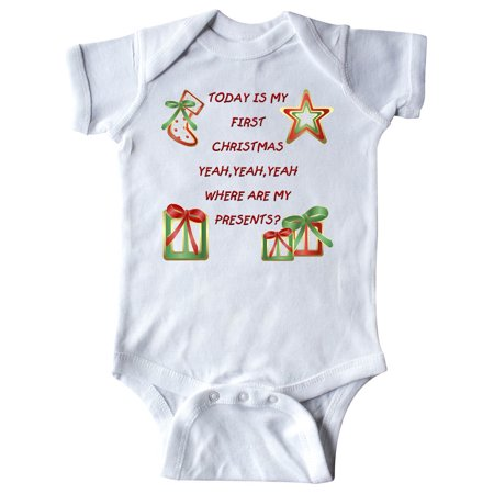 Today is my 1st Christmas Infant Creeper ()
