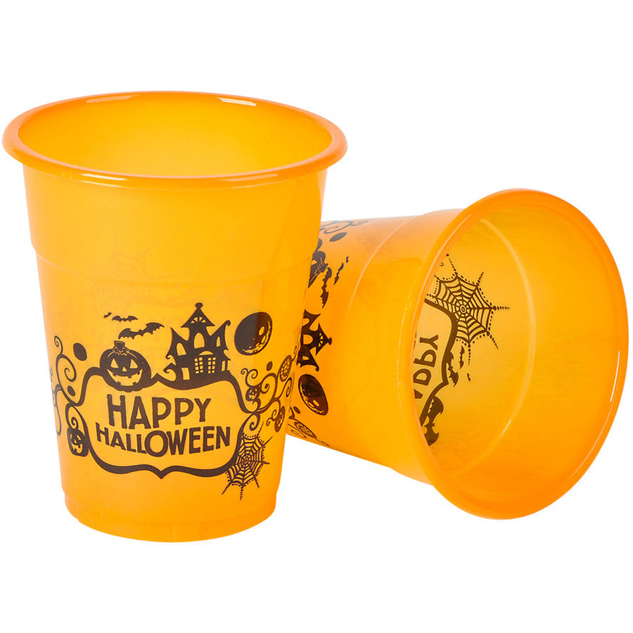 Happy Halloween Cups, Pack of 50