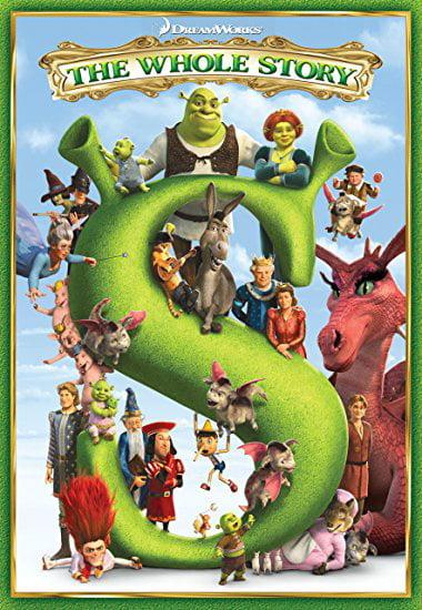 Shrek The Whole Story Quadrilogy Dvd Walmart Com Walmart Com