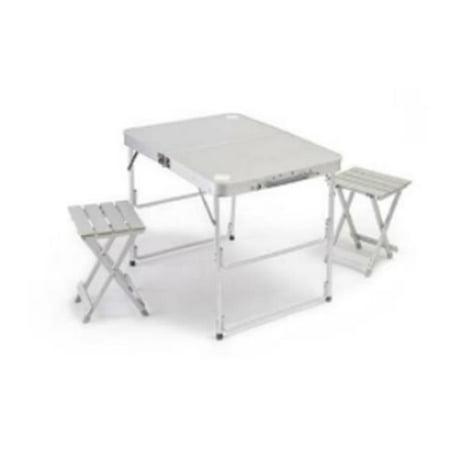 Pacific Import 182 Aluminum Portable Folding 2 Person Picnic Table