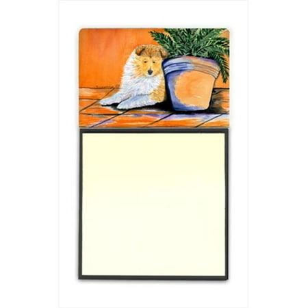 Sheltie Refiillable Sticky Note Holder or Postit Note Dispenser - image 1 de 1