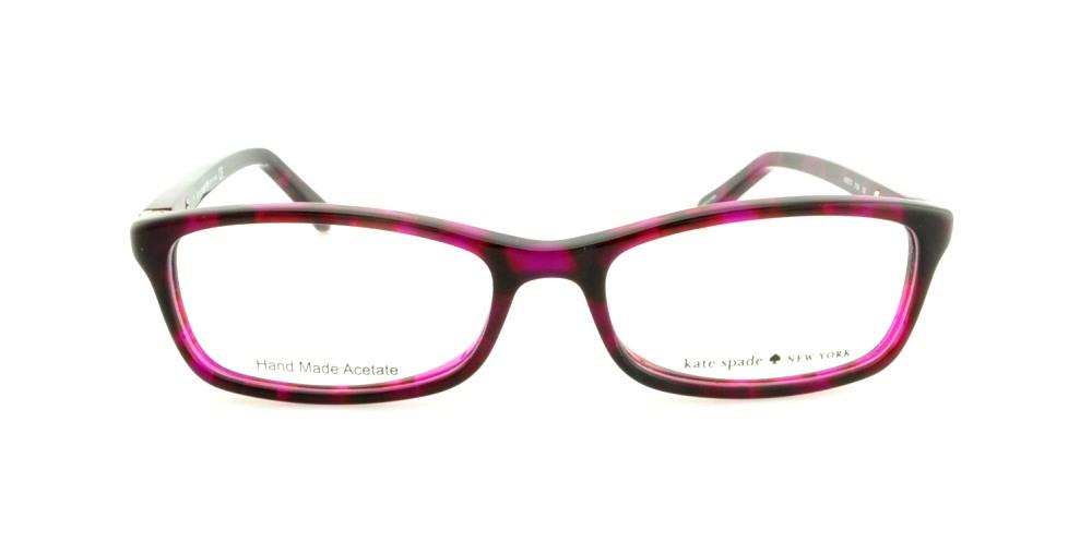 f64f0e696b Eyeglasses Kate Spade Agneta Us 01G4 Pink Havana - Walmart.com