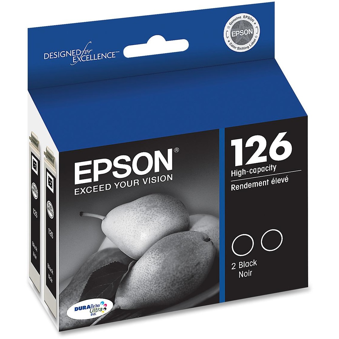 Epson DURABrite 126 Original Dual Black Ink Cartridge by Epson