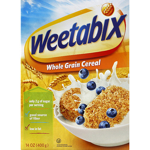 Weetabix Whole Grain Cereal, 14 oz, (Pack of 12)