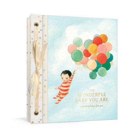 Baby Memory Record Book (The Wonderful Baby You Are : A Record of Baby's First Year: Baby Memory Book with Stickers and Pockets )