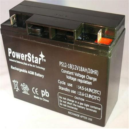 Lobster Ball Machines - PowerStar PS12-18-88 12V 18Ah Battery For Lobster Elite 2 Tennis Ball Machine