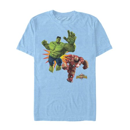 Marvel Men's Contest of Champions Fight T-Shirt (Marvel Contest Of Champions Best Heroes)